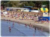 Пляжи Анапы 2020 лучшие галечные и песчаные центральный